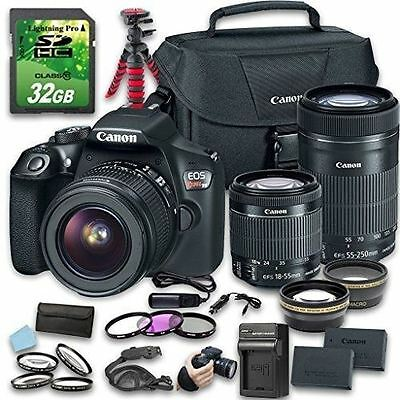 Canon EOS Rebel T6 DSLR Camera (Wi-Fi) Bundle with EF-S 18-55mm f/3.5-5.6 IS II
