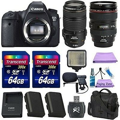 Canon EOS 6D 20.2 MP CMOS DSLR Camera with Canon EF 24-105mm f/4 L IS USM KIT
