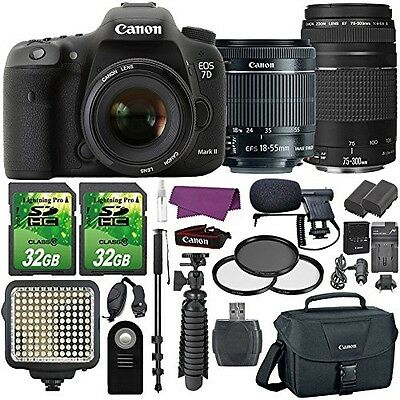 Canon EOS 7D Mark II Digital SLR Camera with EF-S 18-55mm IS STM Lens