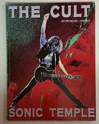 The Cult Sonic Temple Songbook No Guitar Tab