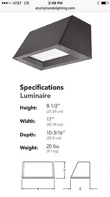 Lithonia Lighting Wst Led P2 30k Vw Mvolt E20wc Wall Sconce
