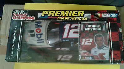 Mobile 12 Jeremy Mayfield Diecast Nascar race car collectable 1;24 scale New