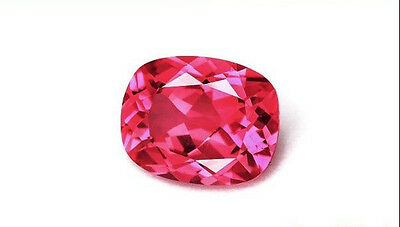[japan quality] Hot Neon Pink Spinel 0.90CT  Loose Gemstone