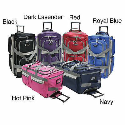 Olympia Rolling Duffel Bag Wheeled Duffle Carry On Luggage