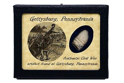 Shot Bullet From the Battle of Gettysburg with Certificate of Authenticity