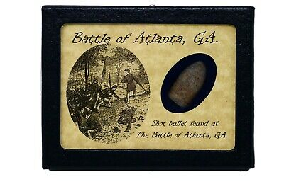 Shot Bullet From The Battle of Atlanta, GA with Certificate of Authenticity