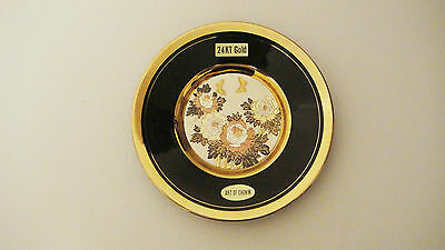 The Art Of Chokin Collector Plate 24 K Gold – Made In Japan