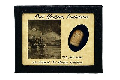 Shot Bullet from Port Hudson, Louisiana with Certificate of Authenticity