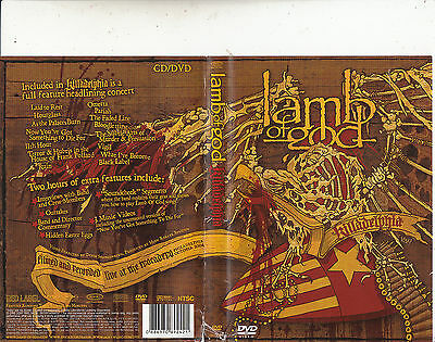 Lamb of God-Killadelphia-2005-[2 Disc CD+DVD]-Music Band L-DVD