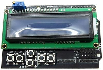 16x2 LCD Shield Kit for Arduino