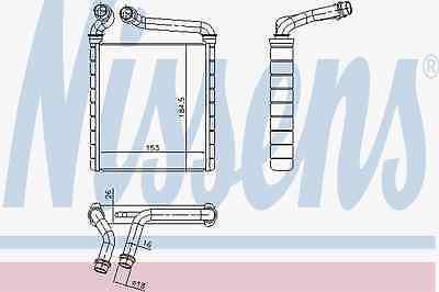 Heat exchanger Interior heating VW SKODA - Nissens 73979