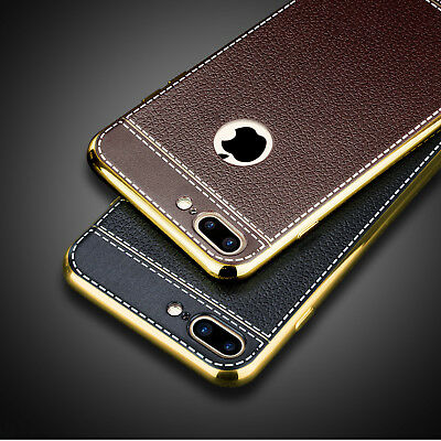 For Apple iPhone 8 & 7 Plus Genuine Slim Ultra Thin PU Leather Case Cover