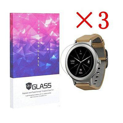 Tempered Glass Screen Protector 9H Hardness For LG Watch Style(3pcs)