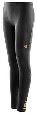 Skins A400 Youth Long Tights - Black