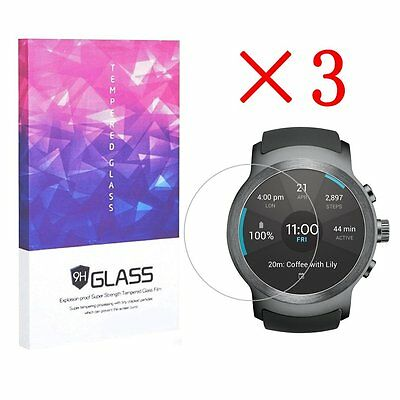 Tempered Glass Screen Protector 9H Hardness For LG Watch Sport(3pcs)