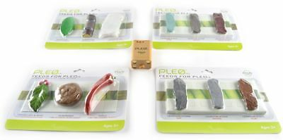 Four Food Pack and Replacement Battery PLEO rb