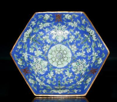 Chinese Antique  Porcelain Dish.19Th C