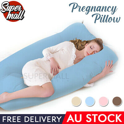 Maternity Pillow Pregnancy Nursing Sleeping Support Feeding Boyfriend Women AU