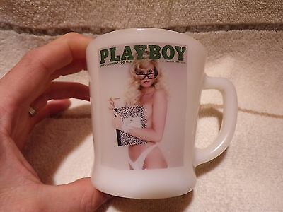 Fire King Glass Playboy Entertainment For Men Coffee Cup Mug Lqqk