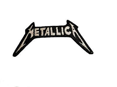 Metallica Logo Embroidered Patches Sew Iron On Badge Hat Jeans Jacket Applique