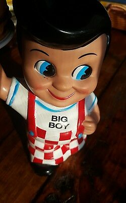 Big Boy Burger Coin Bank Funko Elias Brothers  Restaurant Memorabilia Unique