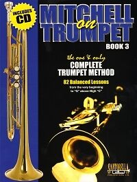 MITCHELL ON TRUMPET Book 3 Lessons + CD