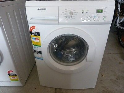 Simpson Washing Machine Excellent Condition! Energy and Water Efficient!