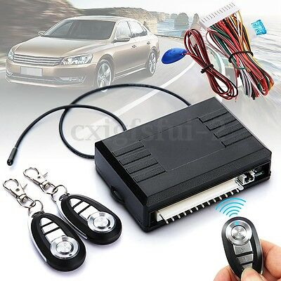 Universal Car Kit Remote Central Door Lock Locking Vehicle Keyless Entry System