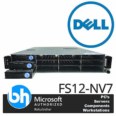 Dell FS12-NV7 2x AMD Quad Core 2.1Ghz 16GB RAM Cloud Server VMWare Rack Kit 2U