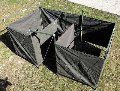 Army Military Field Hygiene and Sanitation Olive Drab tent Zelt
