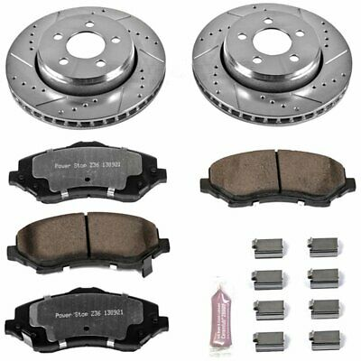 Powerstop 2-Wheel Set Brake Disc and Pad Kits Front New Jeep Liberty K1631-36