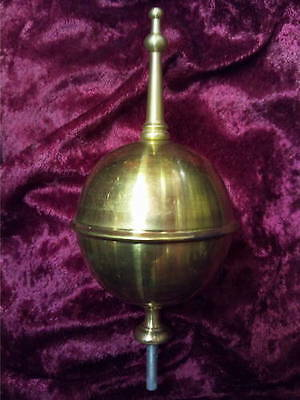 New Longcase Large Brass Finial • £23.00