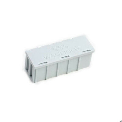10 x Wago (51008291) WAGOBOX Multi-Purpose Junction Box Grey 108mm x 39mm x 44mm