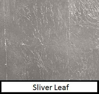10 sheets of silver leaf 7cmx7cm (Transfer) gold & copper leaf also in shop