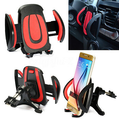 Universal 360° Car Air Vent Mount Cradle Holder For Mobile Phone Sat Nav GPS