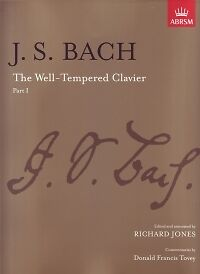 BACH WELL TEMPERED CLAVIER Part 1 Jones P/B Piano*