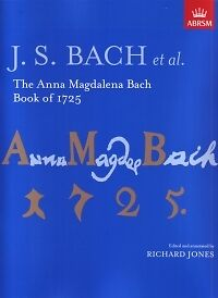 BACH ANNA MAGDALENA BOOK of 1725 Jones
