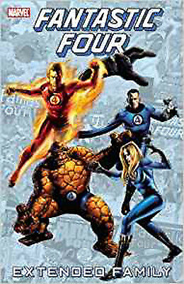 Fantastic Four: Extended Family (Fantastic Four (Marvel Paperback)), New, Stan