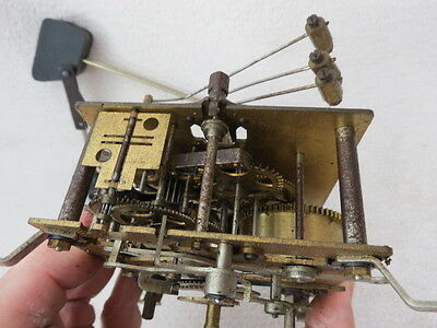 Vintage Junghans Ting Tang Strike Clock Movement And Gong Lotc