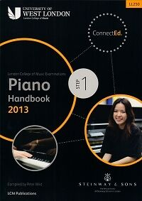 LCM PIANO HANDBOOK 2013-2017  Step 1*