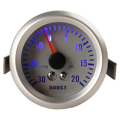 52mm 0~30in.Hg/0~20PSI Auto Car Turbo Boost Gauge Meter Car turbocharged Meter