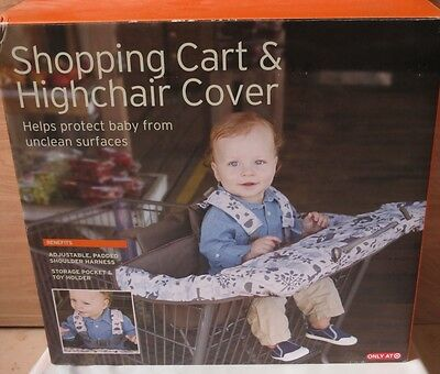 Eddie Bauer Baby Shopping Cart / Highchair Cover Woodland gently used in Box