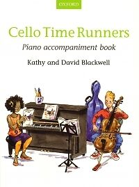 CELLO TIME RUNNERS Piano Accomps NEW