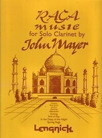 RAGA MUSIC FOR SOLO CLARINET Bb arr Mayer