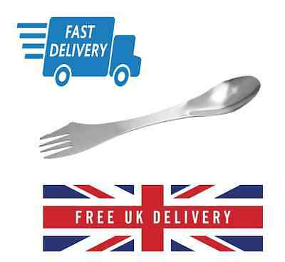 Stainless Steel Spork (Brand New) Fast Delivery from UK Seller