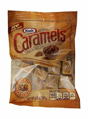 Kraft Caramels 4.25 Ounce (Pack of 12) Traditional 4.25 Ounce (Pack of 12)