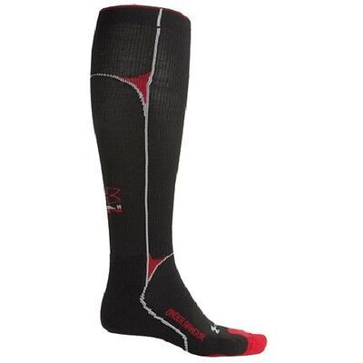 Under Armour Compression Running Socks OTC Over Calf Men's 9-12 L sports support