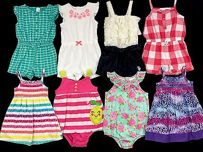 Toddler Baby Girl Clothes Size 12 Months Spring Summer Outfits Mixed Lot Set