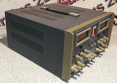 BK Precision Model 1660A Tripple Output Regulated DC Power Supply