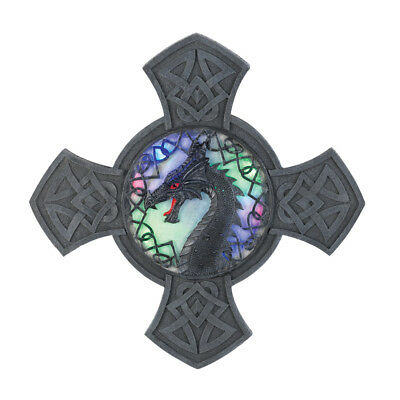 EAST-15056-Dragoncrest Light-Up Wall Decor